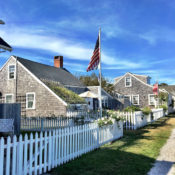 Nantucket celebrating Labor Day