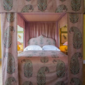 Soane Fall 2016 - bed with Paisley Parrot fabric