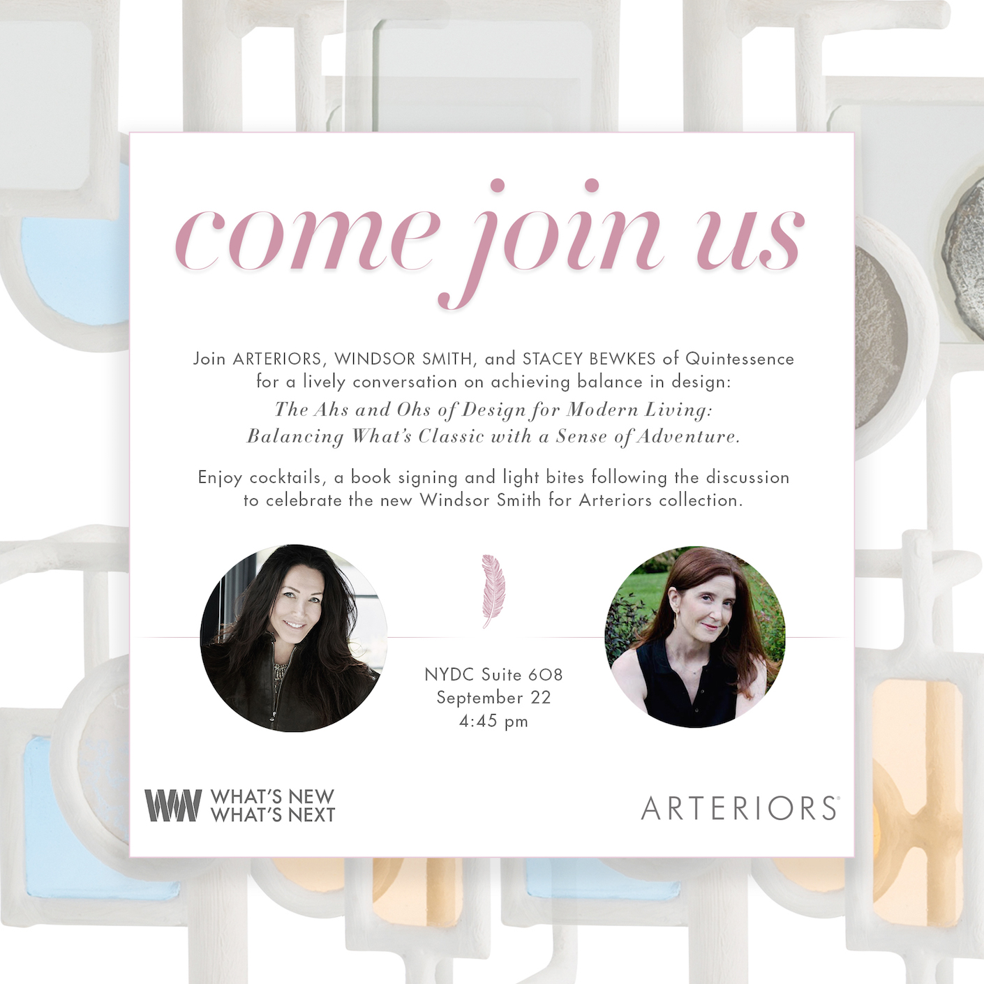 What's New What's Next with Windsor Smith and Arteriors