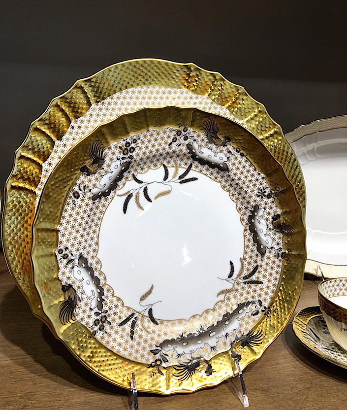 ginori-oro-nero-dinnerware