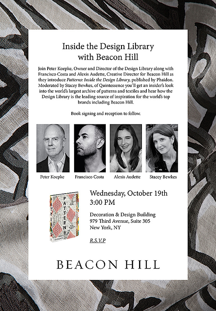 Inside the Design Library with Beacon Hill at D&D Fall Market