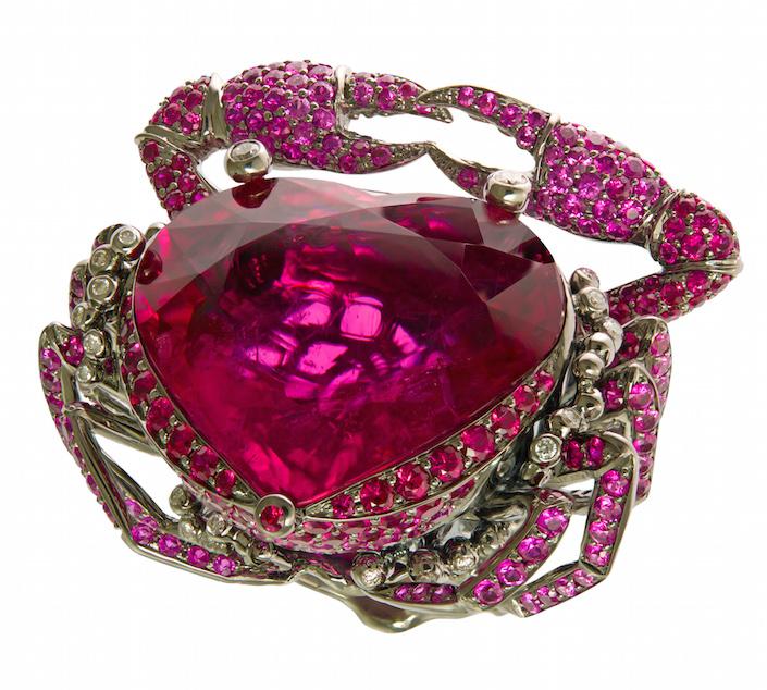 Lydia Courteille ring in Jeweler by Stellene Volandes
