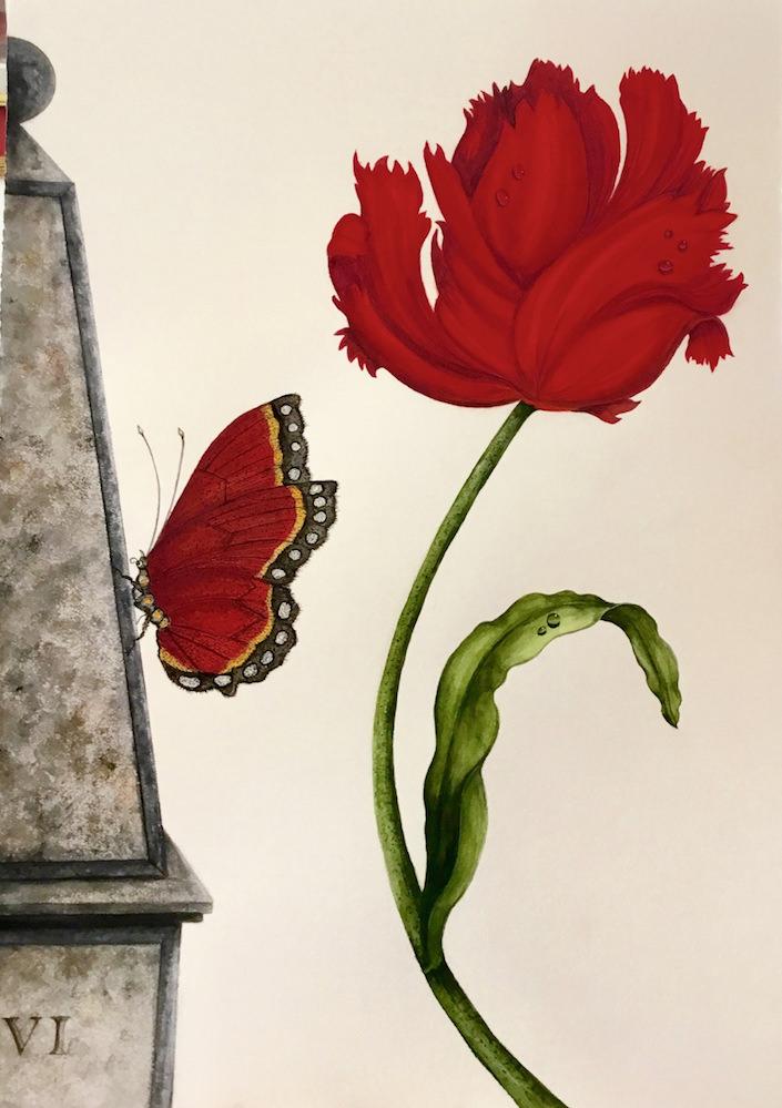 Carolyne Roehm Watercolors at Mecox