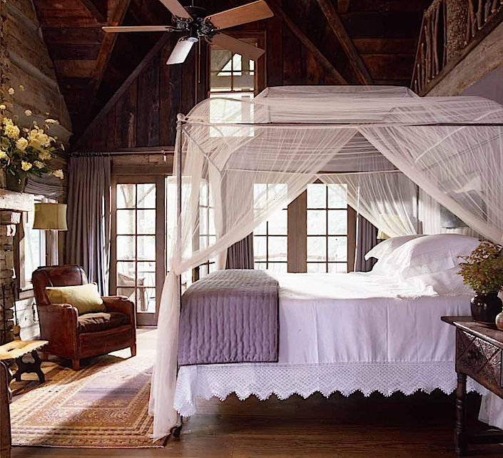 Amelia Handegan Rooms cabin bedroom