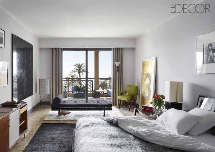 elle decor global style issue humbert poyiet in monte carlo living room - Elle Decor