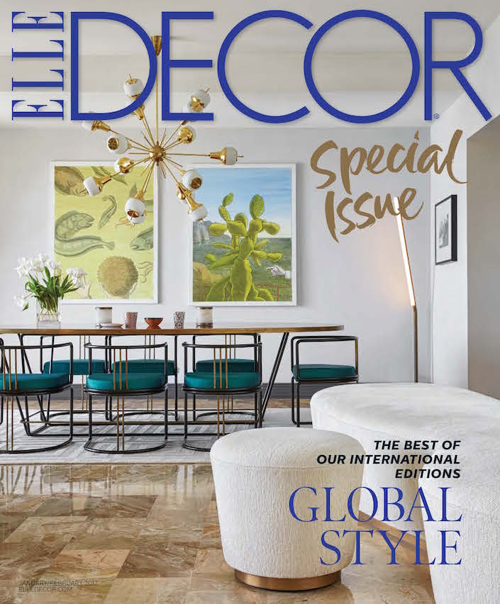 Sneak Peek Elle Decor Global Style Issue Quintessence