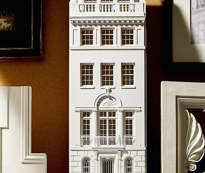 Peter Pennoyer 3D printed architectural model