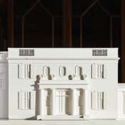 Peter Pennoyer 3D printed model of his country house