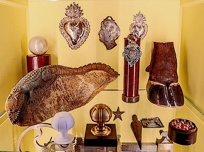 Peter Pennoyer - cabinet of curiosities