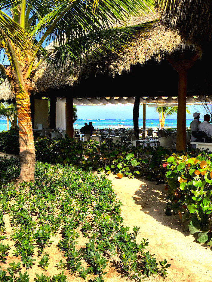 Playa Grande restaurant at Punctacana Resort