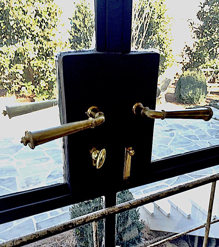 Doors and hardware at Jeannette Whitson Nashville studio