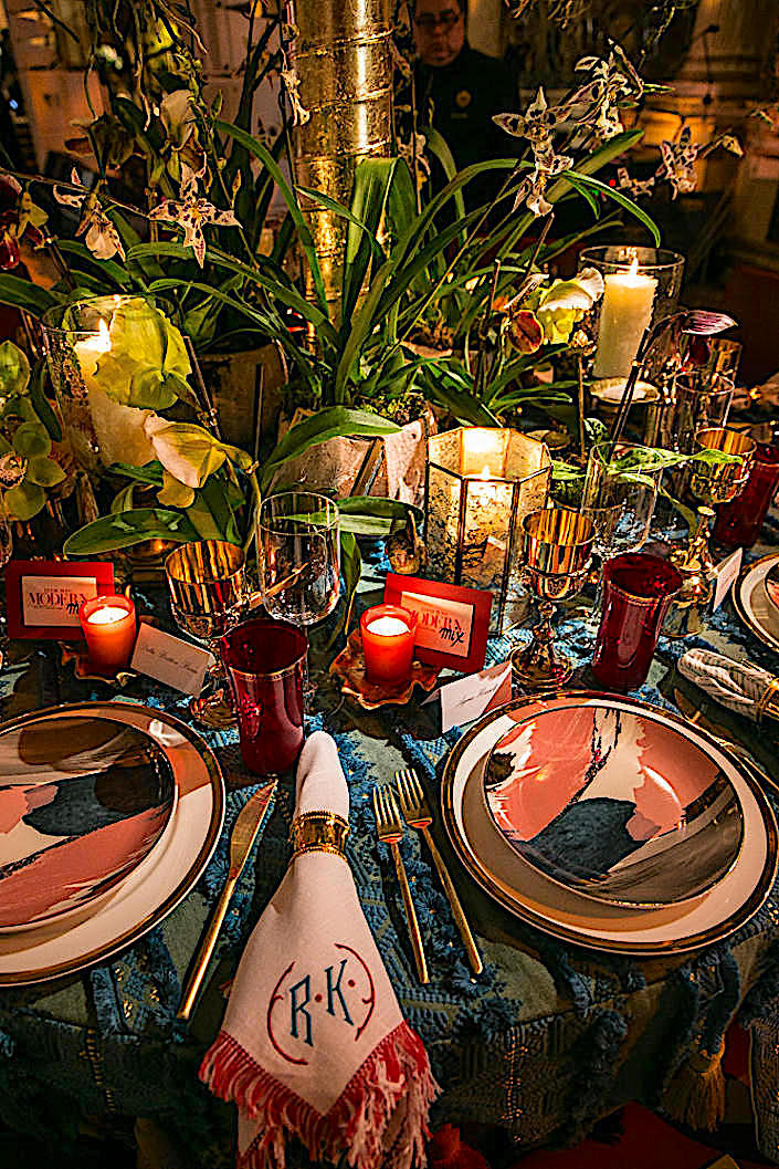 Eddie Ross ATG table for the 2017 Orchid Dinner