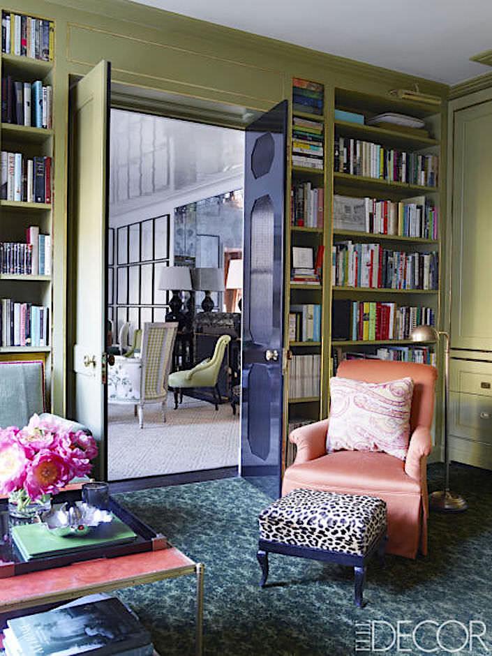 Kate Brodsky apartment, photo Simon Upton for ELLE DECOR