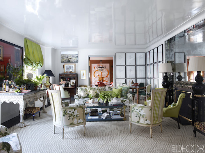 Kate Rheinstein Brodsky apartment, photo Simon Upton for ELLE DECOR
