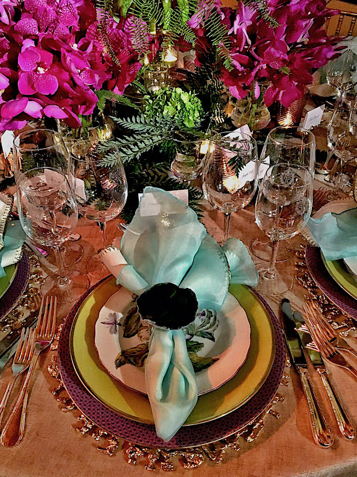 Kathleen Walsh NYBG 2017 Orchid Dinner