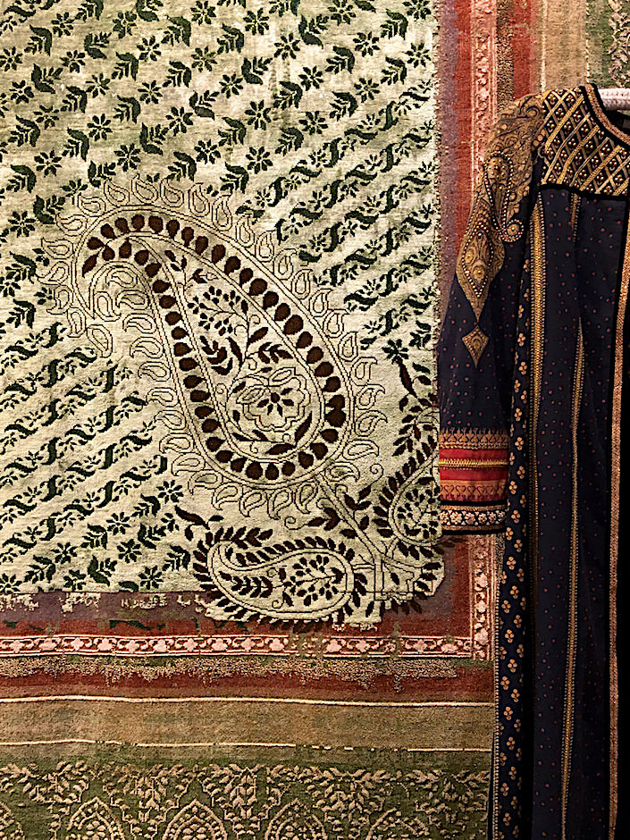 Obeetee & Tarun Tahiliani Chikankari collection detail