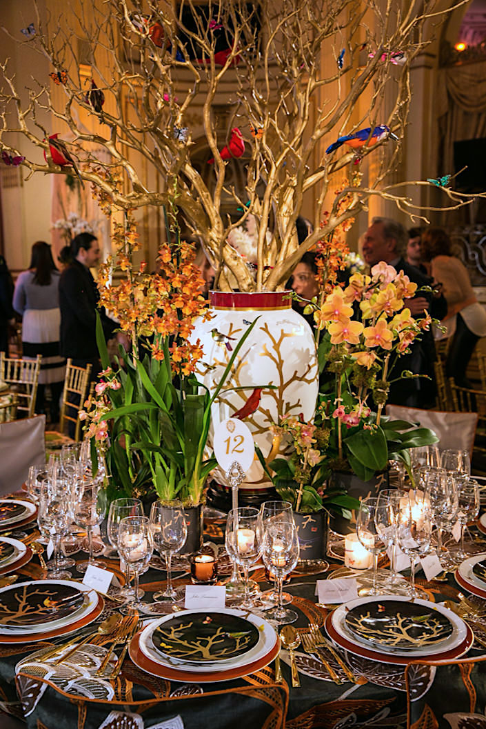 Richard Mishaan Orchid Dinner 2017