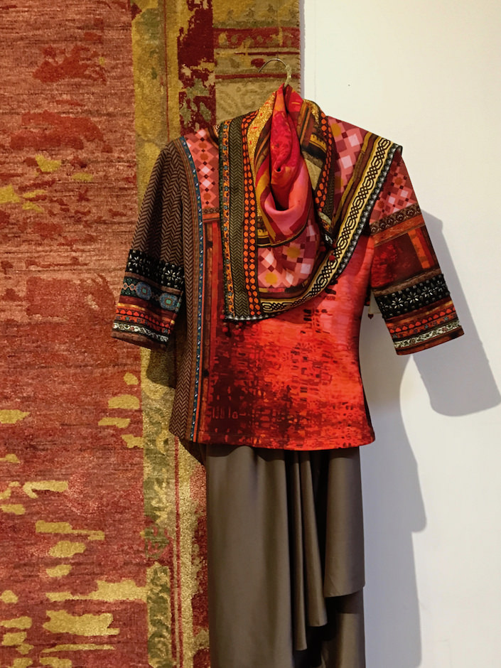 Tarun Tahiliani for Obeetee Abstract Art collection