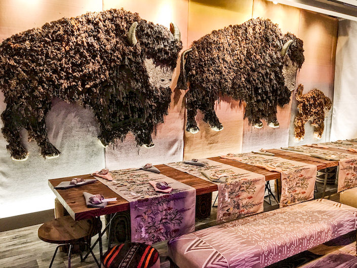 Coral & Tusk for Sunbrella at DIFFA Dining by Design 2017