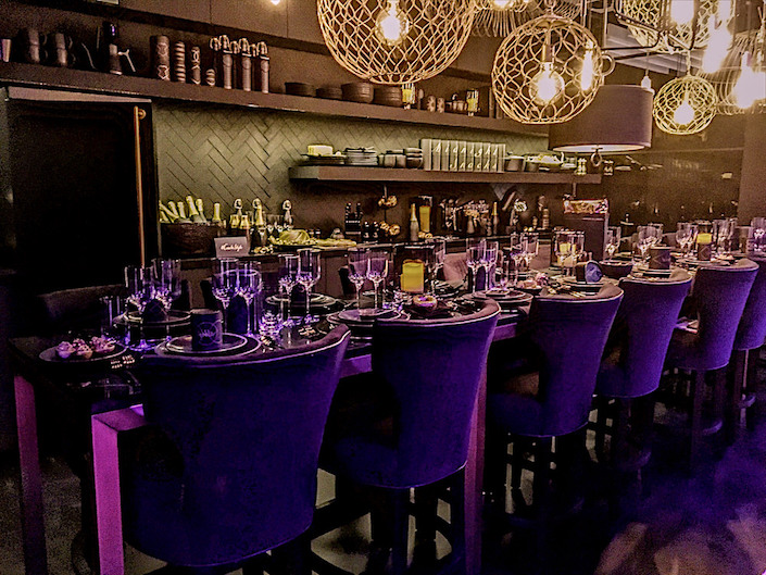 Crate and Barrel DIFFA Dining by Design 2017 tabletop