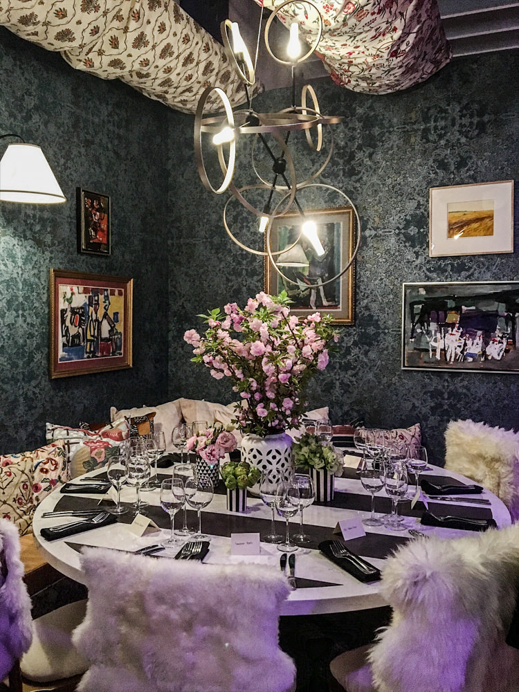 Dekar Design for LUXE Magazine DIFFA Dining by Design 2017