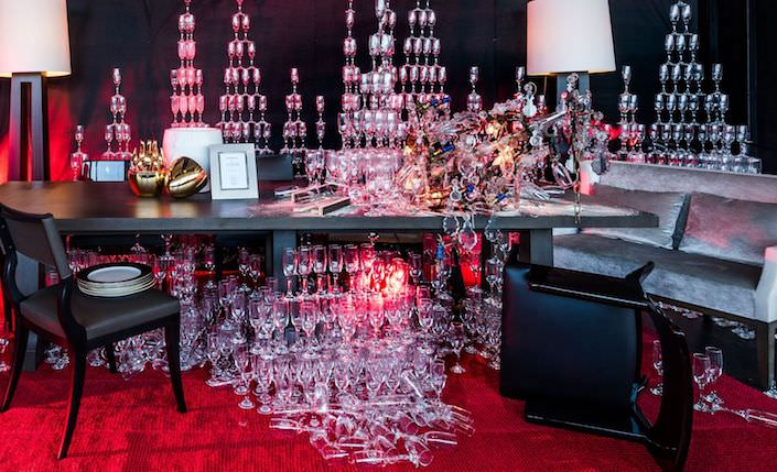 Douglas Little for Liaigre for the NY Times table at DIFFA Dining by Design