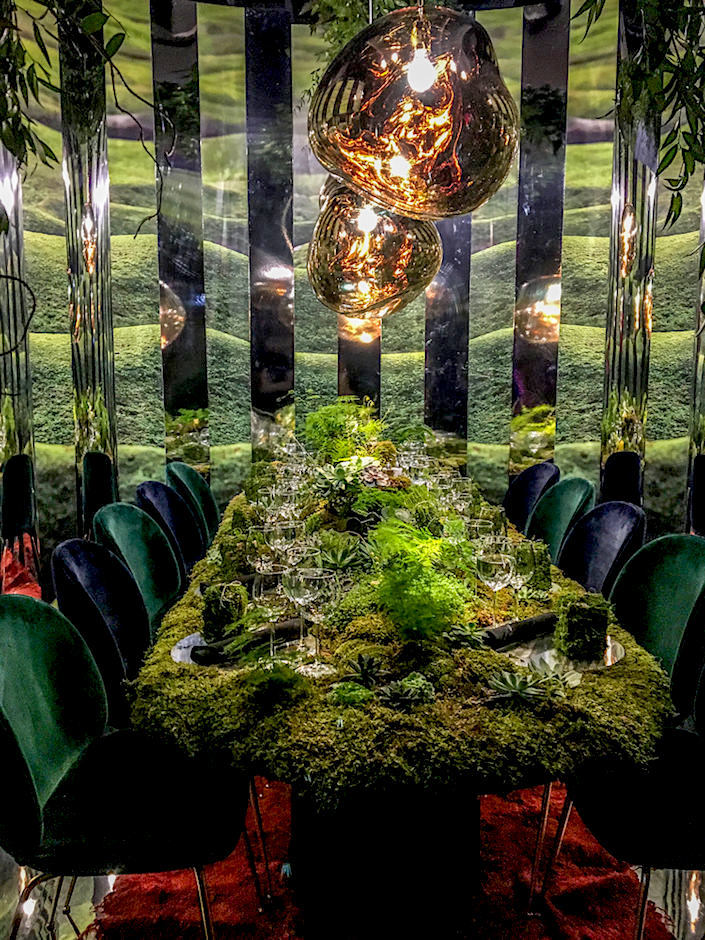 Language Dept. for Design Within Reach at DIFFA Dining by Design 2017