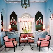 Marie-Anne Oudejans Jaipur apartment, photo Francois Halard in AD