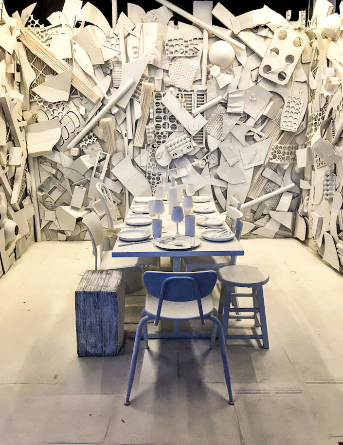 Parsons table for DIFFA Dining by Design 2017