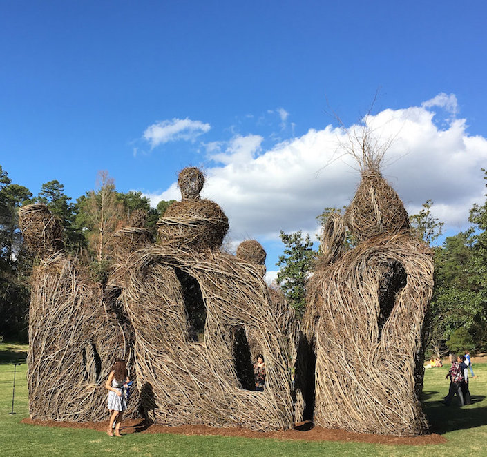 Patrick Dougherty The Big Easy at Duke