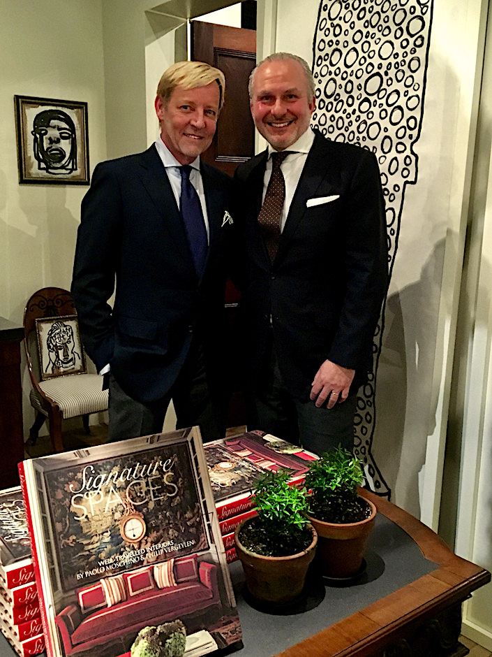 Philip Vergeylen and Paolo Moschino book signing