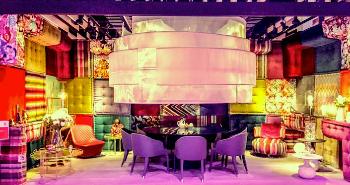 Roche Bobois dining by design