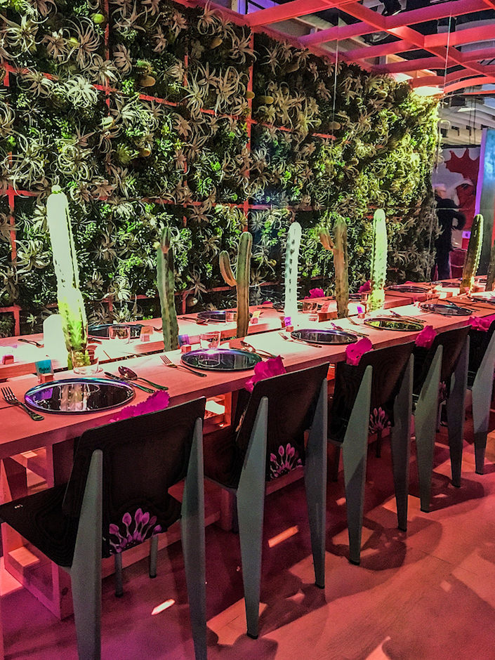 Rockwell Group with Ovando DIFFA Dining by Design 2017 tabletop