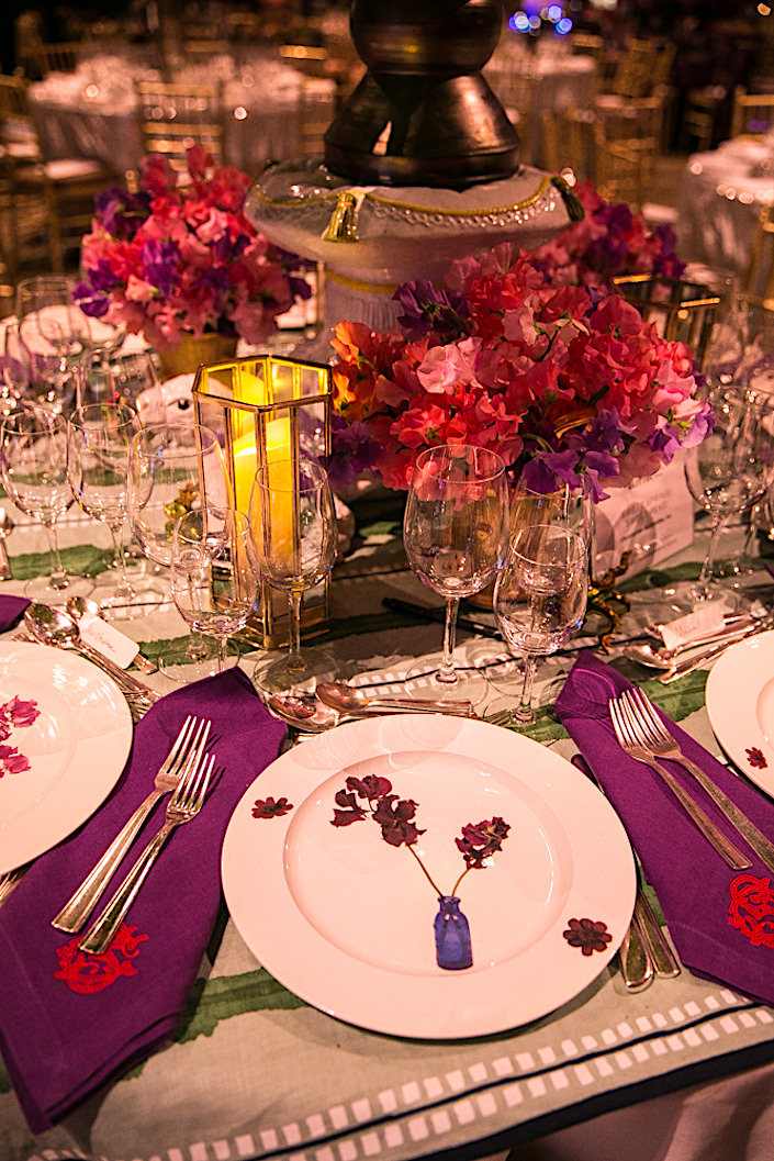 2017 Lenox Hill Neighborhood House Gala Christopher Spitzmiller placesetting