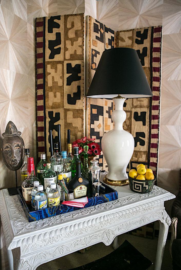 Bar table in Nick Olsen 2017 Kips Bay Show House