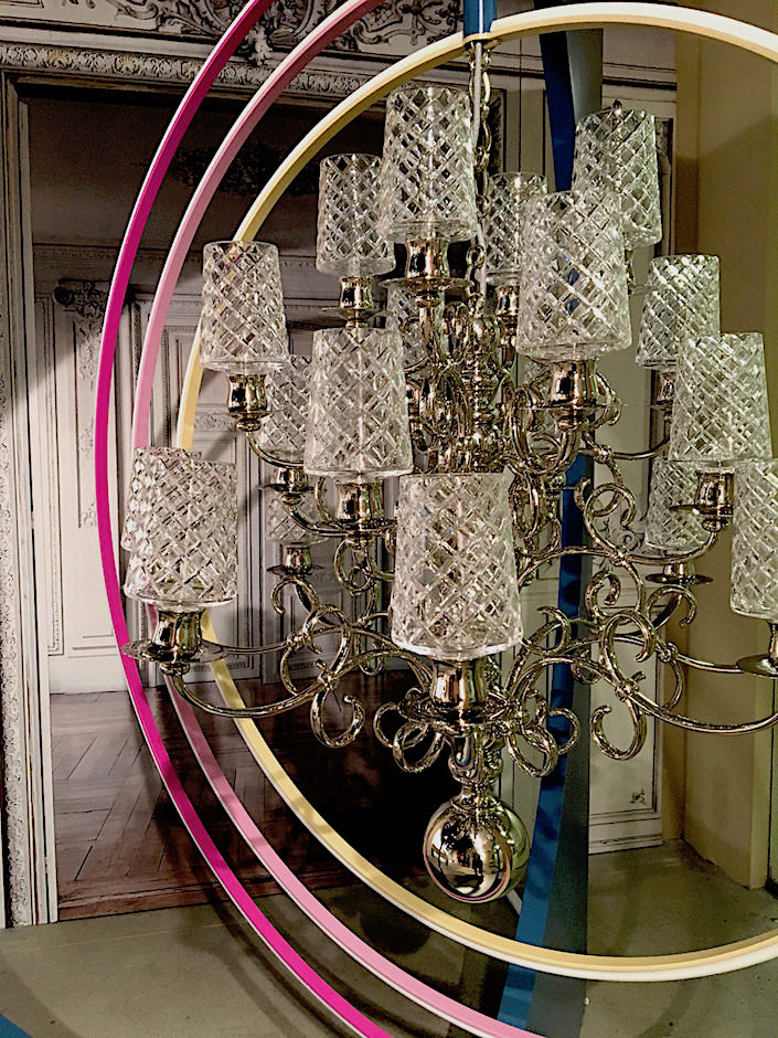 Christofle Marcel Wanders Jardin d'Eden chandelier detail