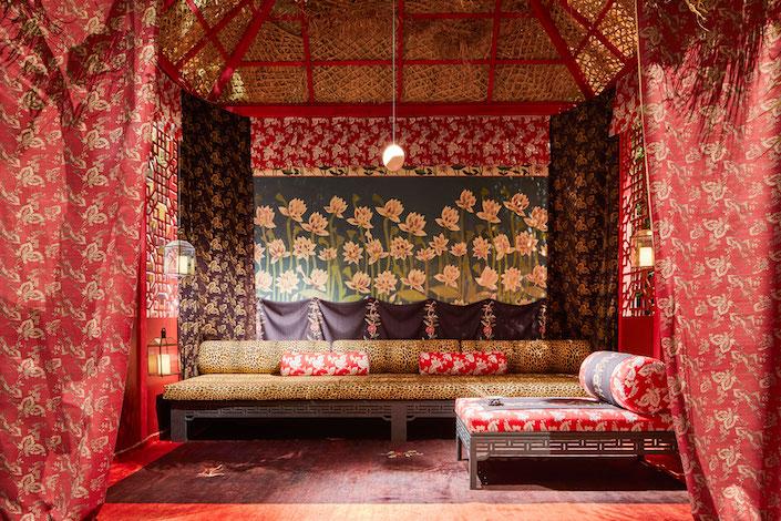 Corian Cabana Club Idarica Gazzoni Chinese Meditation Room