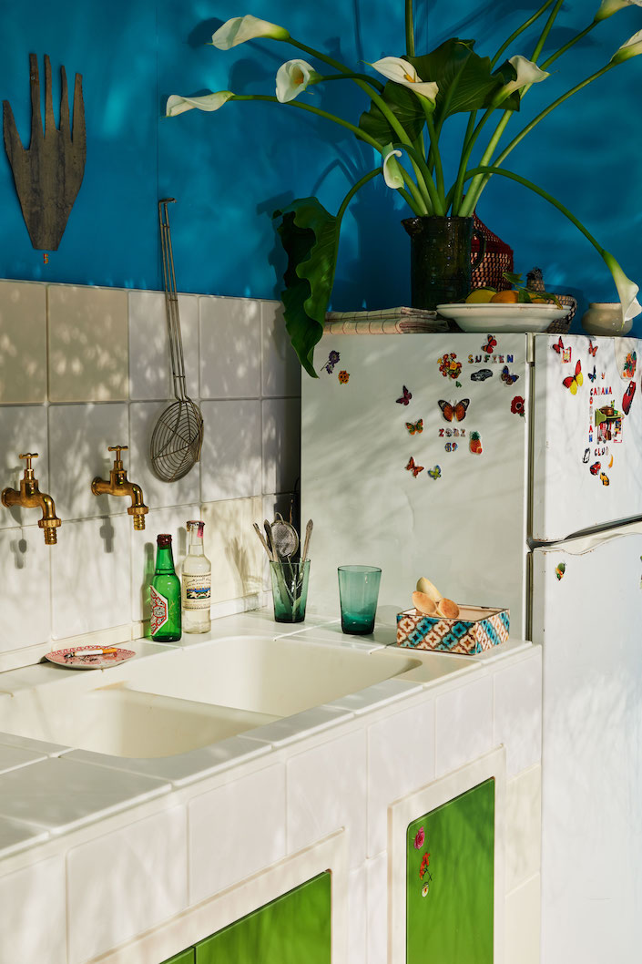 Corian Cabana Club Moroccan Kitchen by Stephan Janson detail