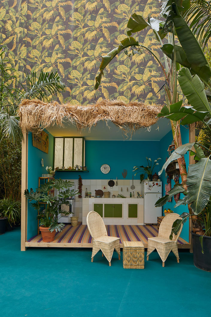 Corian Cabana Club Moroccan Kitchen