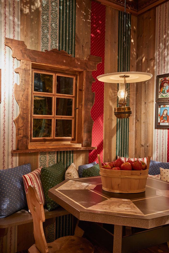 Corian Cabana Club Tyrolean Stube by Susanne Thun detail