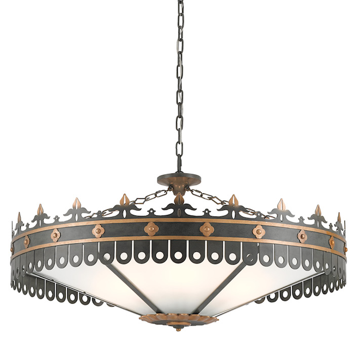 Bunny Williams Lighting for Currey & Company Berkeley Chandelier