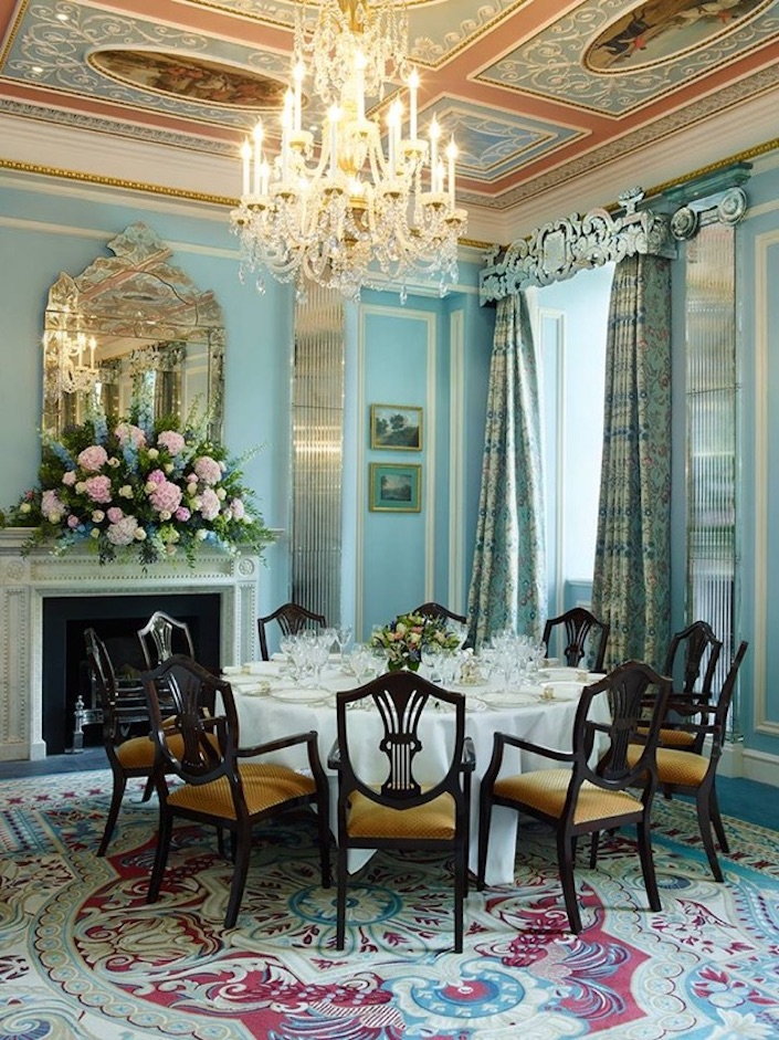 Delphine Neny decorative art tells the story at the Lanesborough Hotel