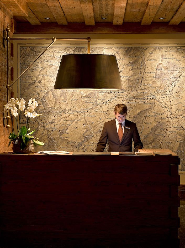 art tells the story - Hotel_Alpina_Gstaad_map art from VISTO