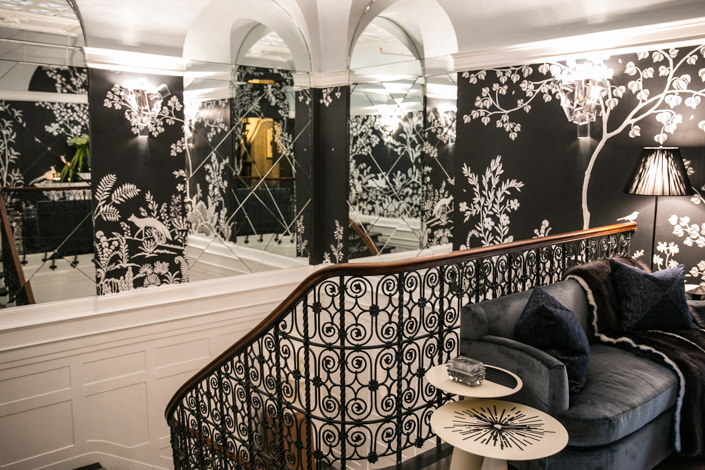 Jonathan Savage stairway 45th Kips Bay Showhouse