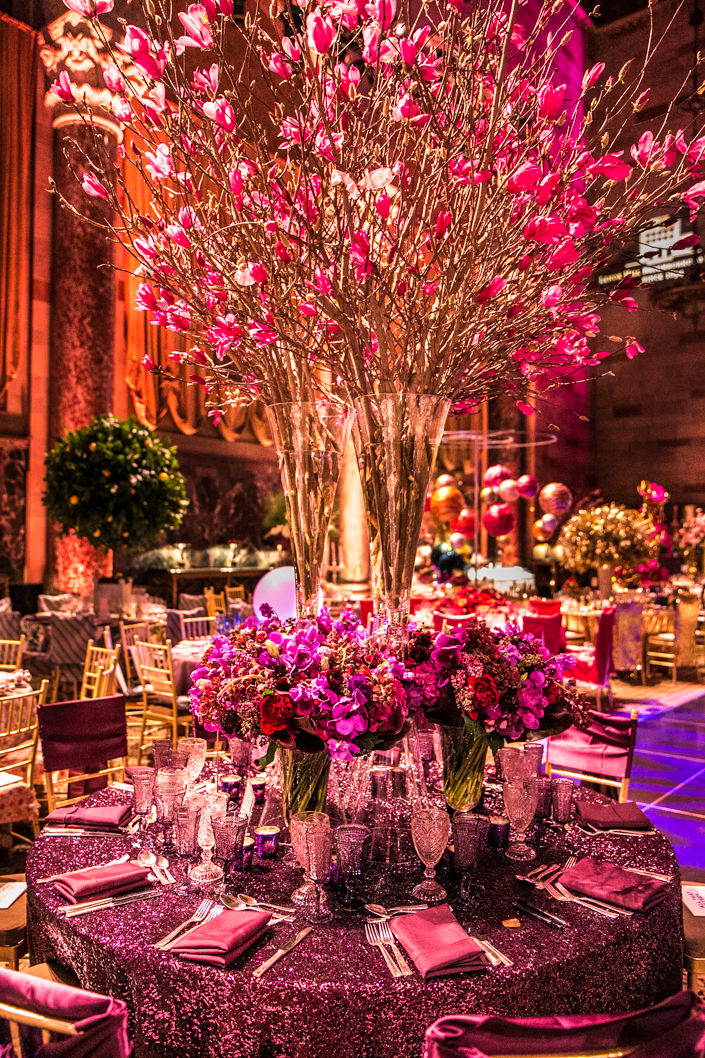 Lenox Hill Neighborhood House Gala 2017 Plaza Flowers