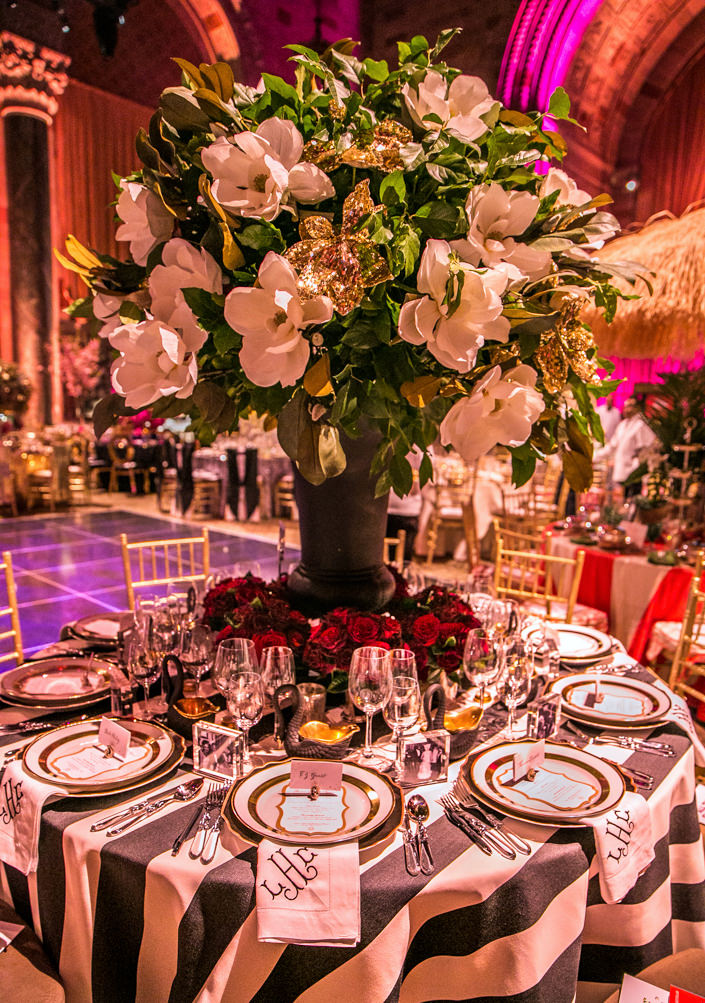 Lindsey Coral Harper table at the 2017 Lenox Hill Neighborhood Gala