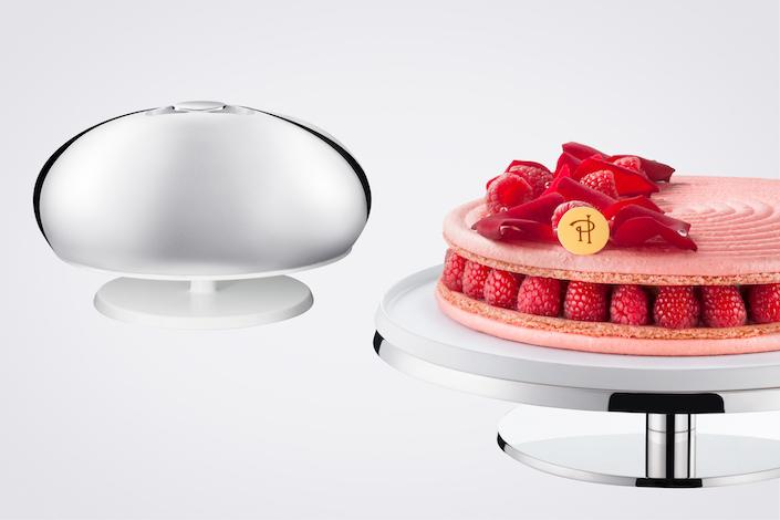 PUIFORCAT Argent Gourmand cake plate
