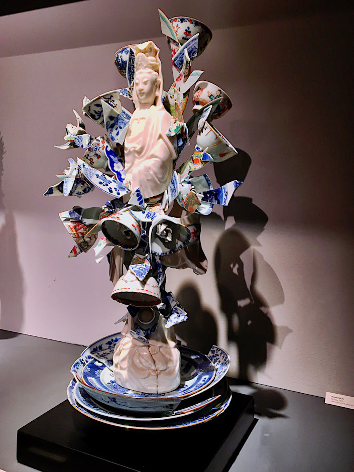 Bouke de Vries, Fragmented Guan Yin at Adrian Sassoon at TEFAF New York Spring