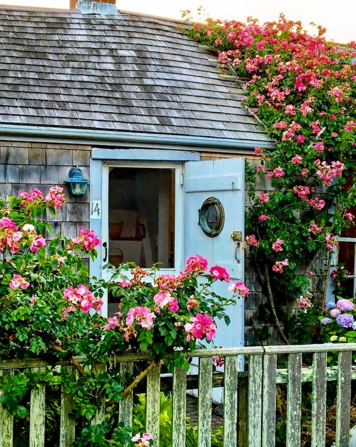 Cottage in Sconset via Quintessence