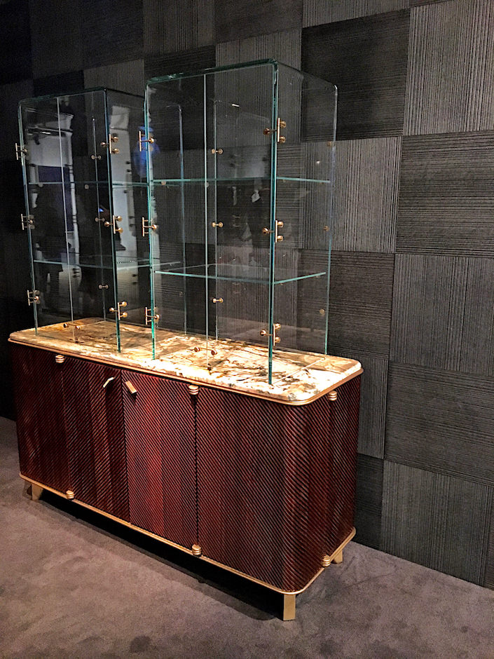 David/Nicolas Monocle Bar Cabinet at Carpenter's Workshop Gallery TEFAF New York Spring